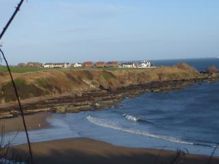 St Abbs from Coldingham Sands