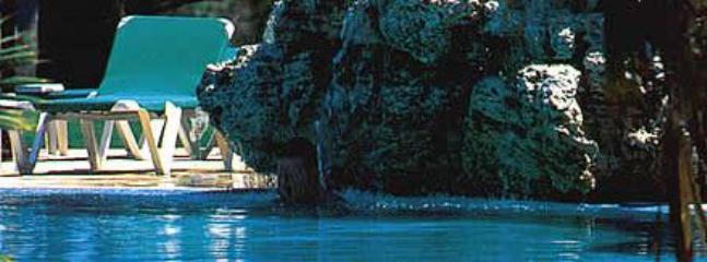Het tropische zwembad Resort
