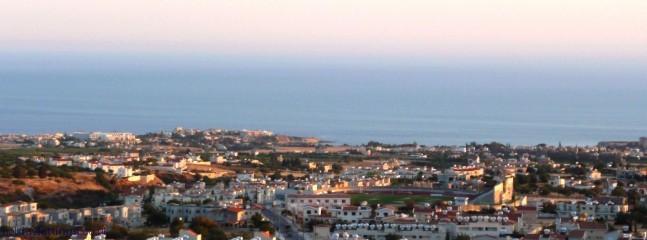 Views at dusk