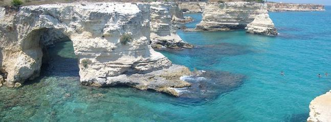 Rock coves on the Adriatic coast (20 min from the property)