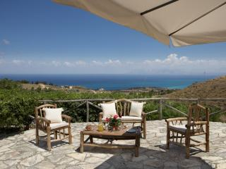 Panoramic view of the famous 'Golfo di Castellammare' from the upper sun terrace.