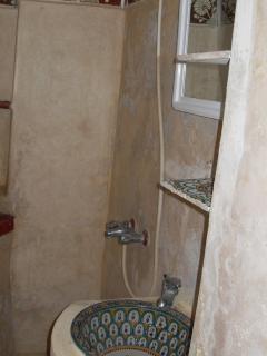Détail salle de bain rez-de-chaussée