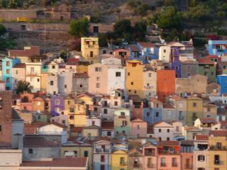 le village accroché a 'Sa Costa'