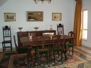 Dining room section in principal living room