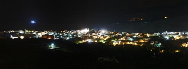 Night view from upper balcony (click the magnifying glass for full panorama)