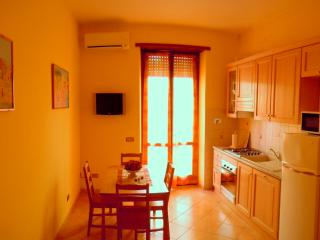 livingroom with kitchenette