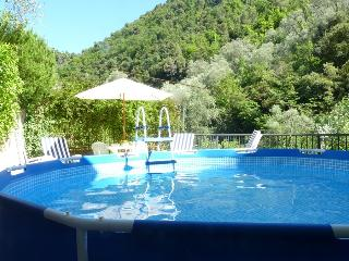 Holiday Villa Near Ventimiglia with mountain views