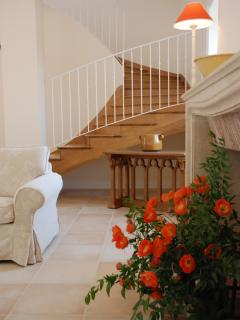 Stairway to the bedrooms