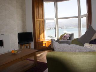 LOUNGE LOOKING AT BARMOUTH BRIDGE