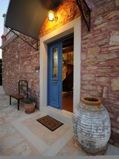 Guest house's external
