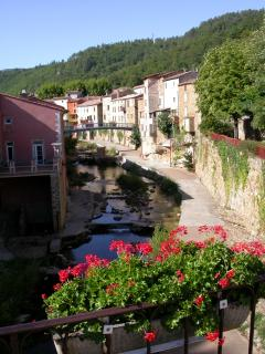 Nearby Rennes les bains is a spa village bordering the naturally salty River Sals