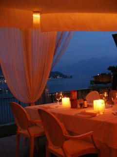 Enjoy a special meal at the Lido Di Lenno