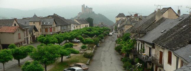 Medieval Najac Village