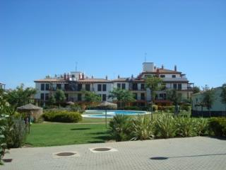 Apartamento con bonita jardín, Costa Esuri