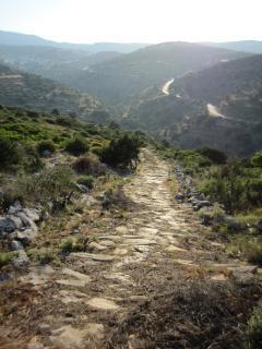 1000 yr old Byzantine road