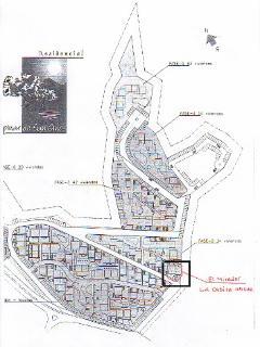 Site Plan showing El Mirador on the best plot
