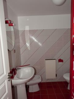 salle de bains de la chambre ARUM