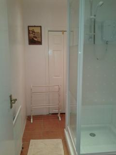 shower room on ground floor