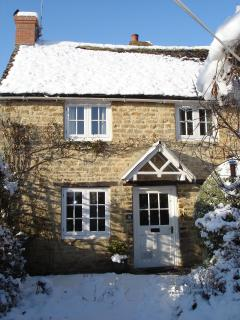The cottage in deep winter (2012)