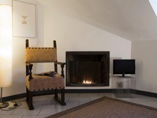 Fireplace - living room