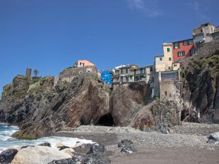 Vernazza, 5 Terre, on the sea