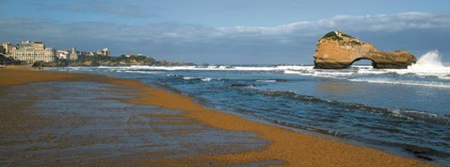 La plage du Miramar