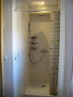 En suite shower room for bedroom one