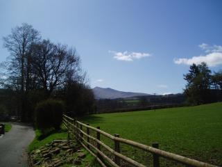 Pen Y Fan from one of our fields