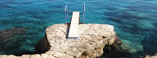 Aquarius Beach divingplattform.