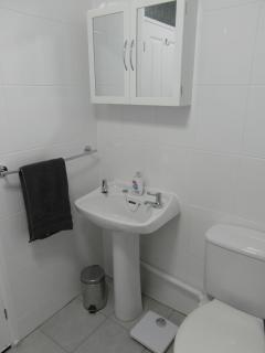 Newly refurbished bathroom