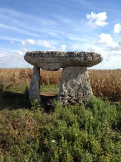 Dolmen close by