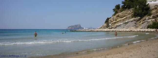 El Portet beach - nearby