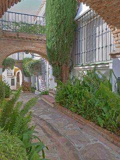 Puebla aida is built of beautiful walkways