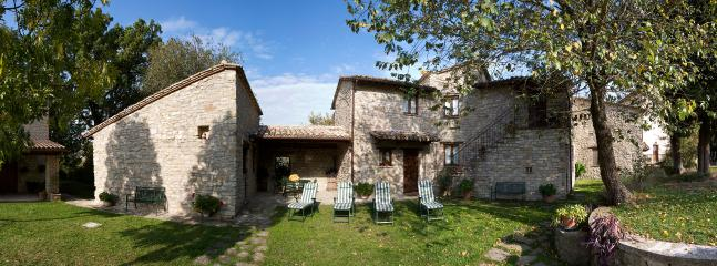 Our peaceful farmhouse in the Umbrian hills