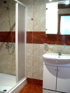 The house shower room/wc.  A second wc is available.