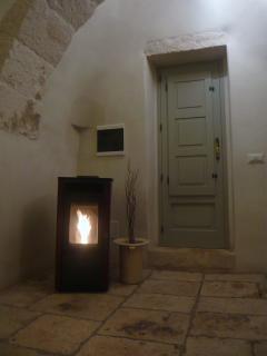 Pelletts wood burner for the winter months