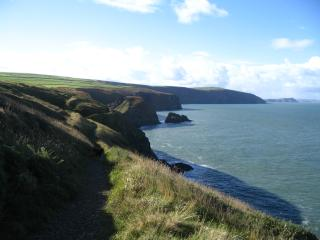 180 Miles of Incredible Wild Coast Path to Explore from the Cottage