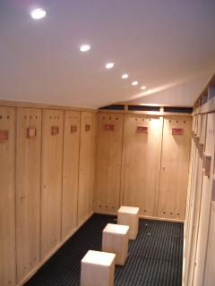 Heated Ski Room with Lockers & Boot Warmers
