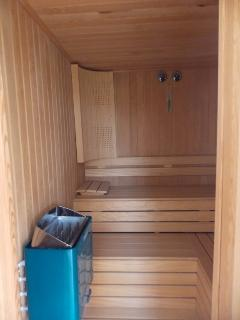 Sauna on the ground floor
