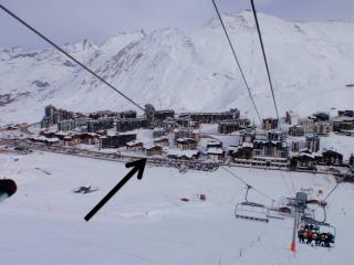 Snow pad for 4, Tignes, Val Claret