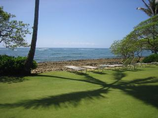 Kapaa Shore Resort #318 Ocean View, W/D, Comp Wifi