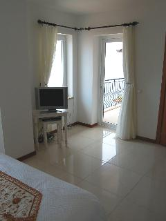 Double bedroom with private sea view terrace