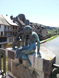 view of Saint geniez d'olt