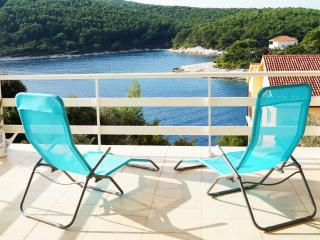 Meditation sea view house, Korcula Island