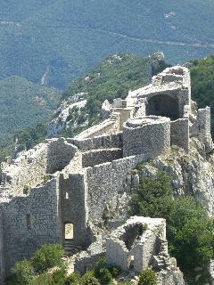 Peyreperteuse cathar castle