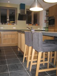 Modern Kitchen, fully equiped, with kitchen table
