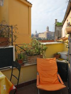 Dachterrasse zum Relaxen