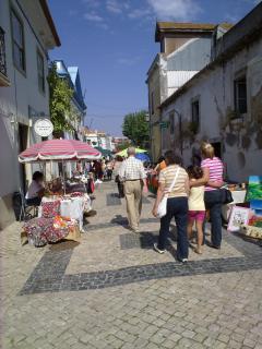 Local market in Lourinha