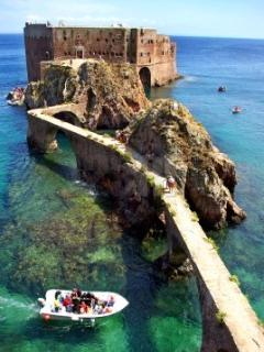 Castle on the Berlenga Islands