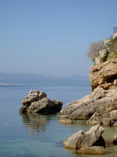 The Beach House Croatia view from the Main Terrace Pisak